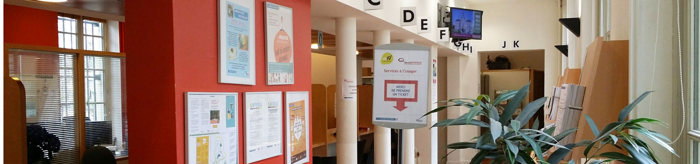 Services Administratifs En Mairie Mairie Du 19e