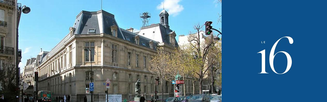 Contact mairie du 16e for Mairie salon