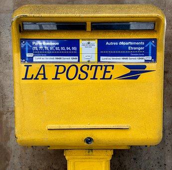 boite aux lettres de la poste