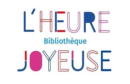 Logo Bibliothèque L'Heure Joyeuse