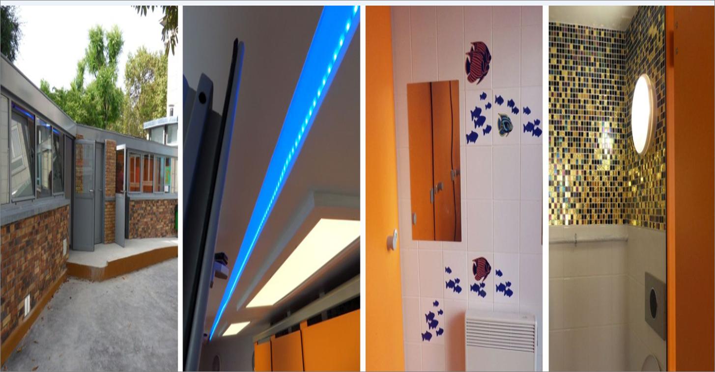 Modernisation des sanitaires de l'école maternelle et élémentaire du 46 rue Boulard