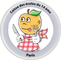 Logo Caisse des écoles du 14e