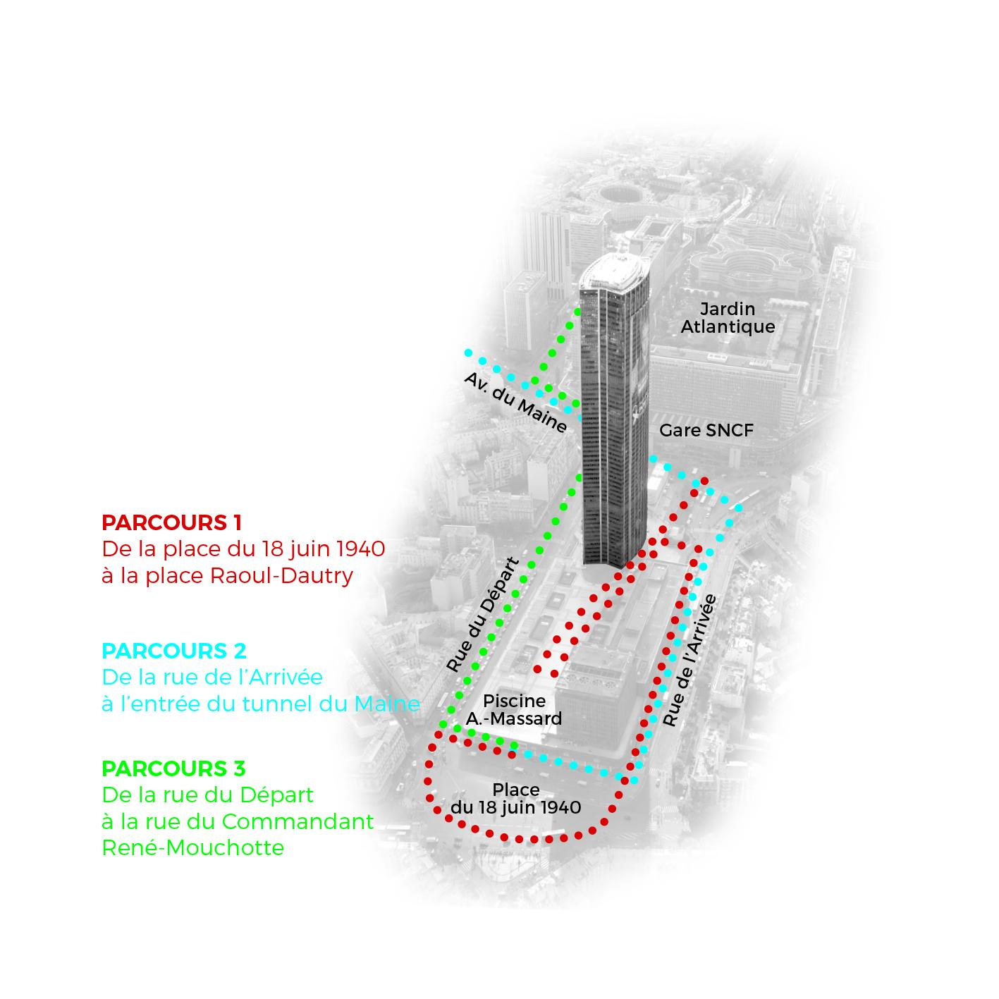 Parcours marche explotoire du 12 octobre