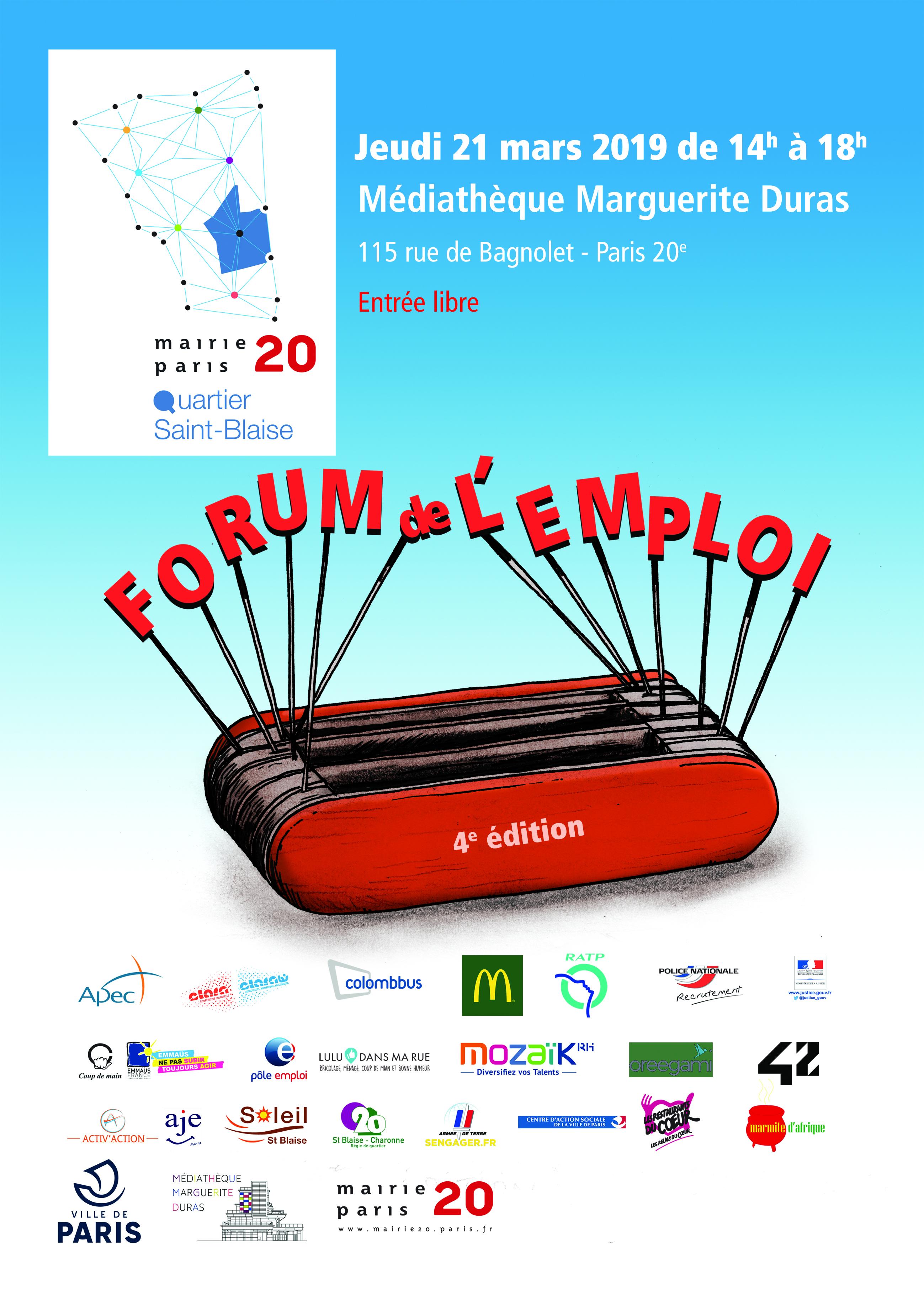 Forum emploi 4e édition