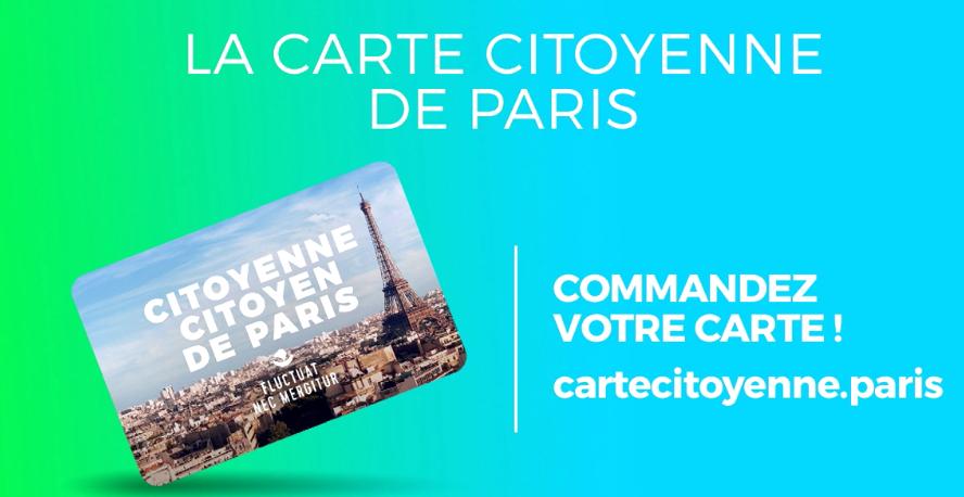 la carte citoyenne de Paris Commandez votre carte ! cartecitoyenne.paris