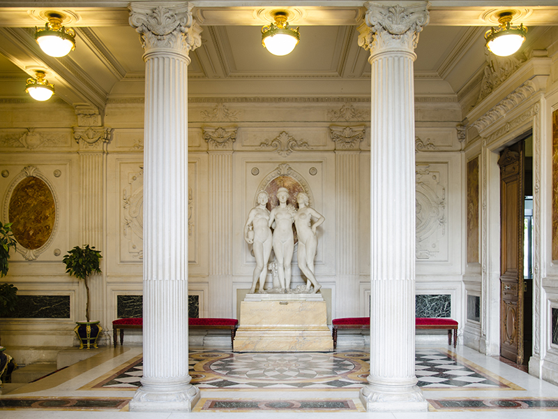 Mairie du 8e arrondissement - Hall - Paris 8e