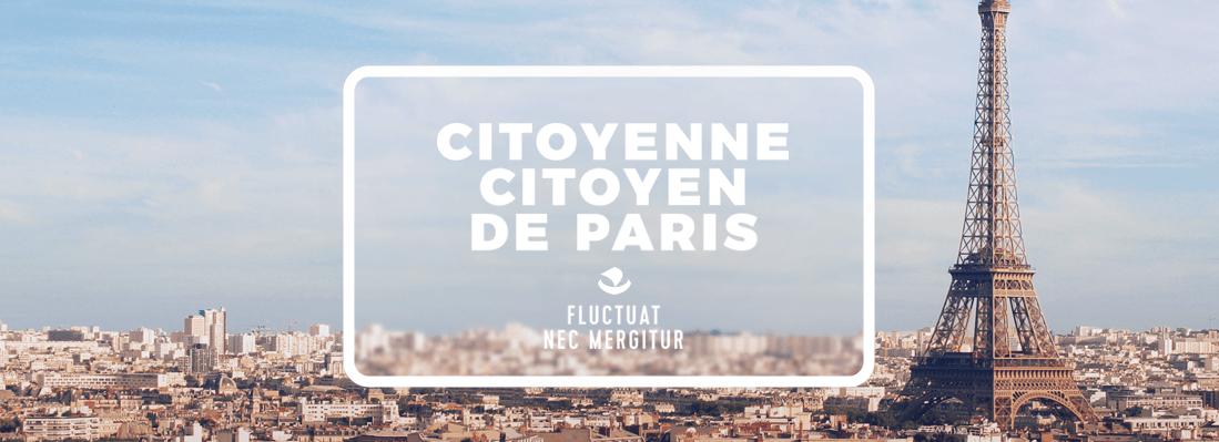 Citoyenne Citoyen de Paris Fluctuat Nec Mergitur