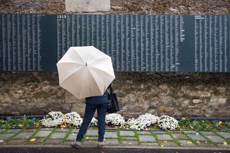 Centenaire de l'Armistice : Monument aux Morts de la Première Guerre Mondiale