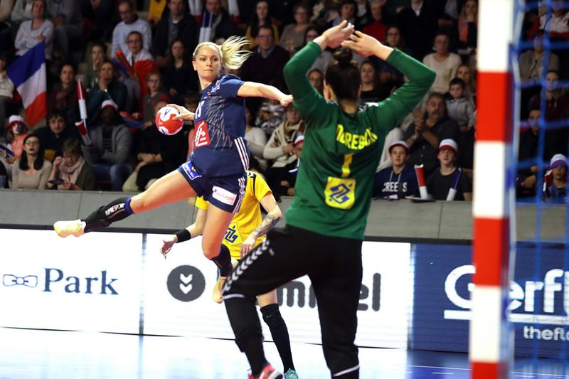Manon Houette, équipe de France de handball
