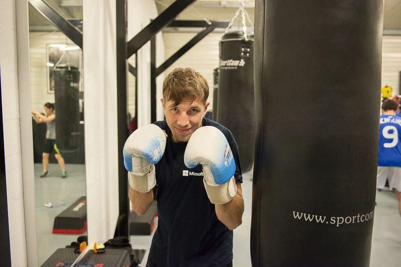 Louis boxeur